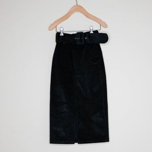 & Other Stories Belted Corduroy Skirt